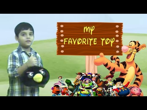 My Favorite Toy with props | Show and tell