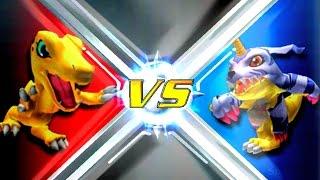 Agumon vs Gabumon [Rumble Arena 2]
