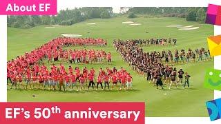 EF's 50th Anniversary: EF Hello 50! Guinness World Record