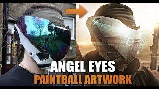 Video ANGEL EYES ARTWORK -  Post Apocalyptic Paintball Artwork. download MP3, 3GP, MP4, WEBM, AVI, FLV April 2018