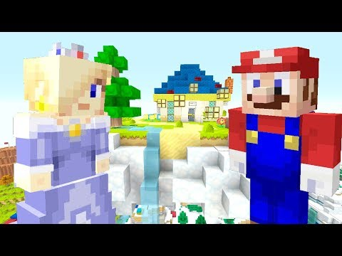 ROSALINA REFUSES TO HELP MARIO WITH PEACH! *JEALOUS!* | Super Mario Series | Minecraft [266]