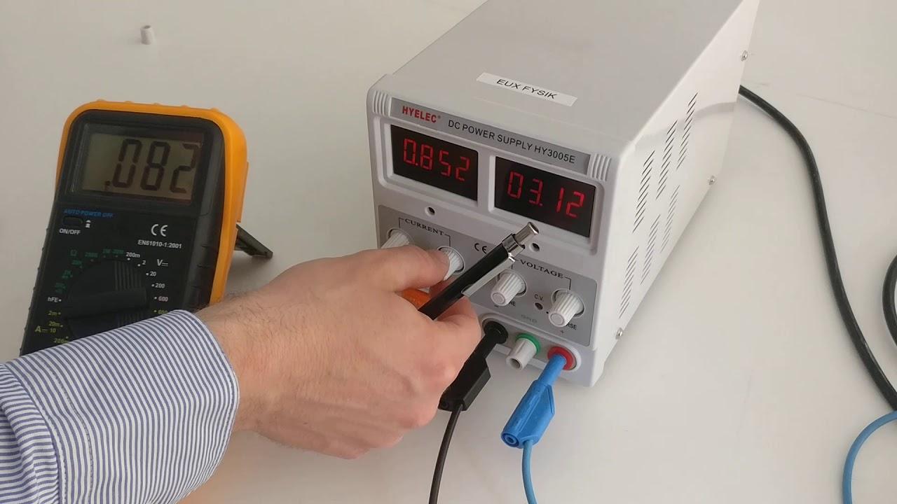 Fysik forsøg: Elektrisk kredsløb del 4