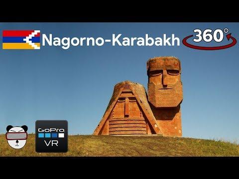 ???? 360° Tatik-Papik   Stepanakert, Nagorno-Karabakh ???????? ????????【GoPro VR Travel   360 Video】