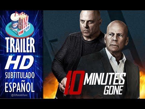 10 MINUTES GONE 2019 🎥 Tráiler EN ESPAÑOL (Subtitulado) 🎬 Bruce Willis, Michael Chiklis