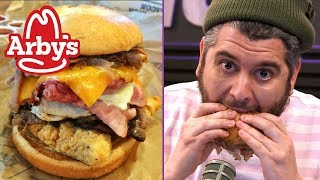 Arby's Meat Mountain Makes Ethan Go Vegetarian