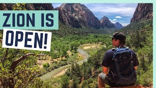 BREAKING QUARANTINE FOR ZION NATIONAL PARK! || RV LIVING
