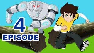 Kid Krrish Movie Cartoon | Big Robot Battle With Krrishna | Cartoon Movies For Kids |Videos For Kids