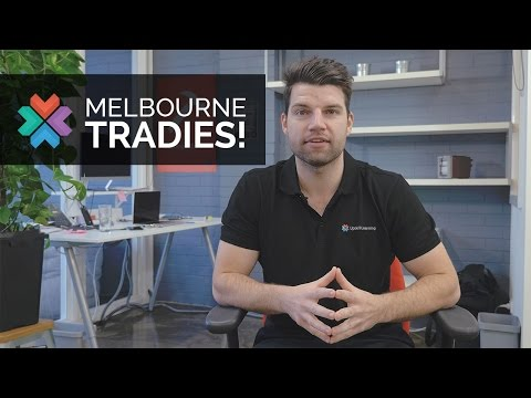 Calling Tradies in Melbourne!