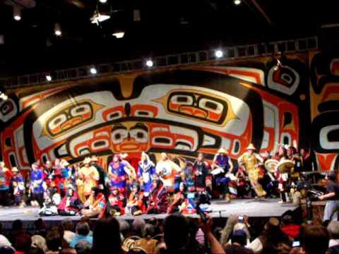 Mt. St. Elias Dancers, Tlingit Dance Group from Yakutat, Alaska