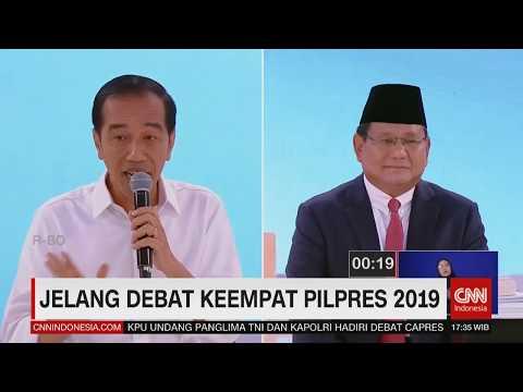 Jelang Debat Keempat Pilpres 2019; Joko Widodo & Prabowo Subianto Kembali Bertemu