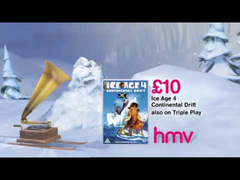 SCRAT & GRAMOPHONE - ICE AGE 4 CONTINENTAL DRIFT | DVD, BLURAY COMMERCIAL / TV SPOT