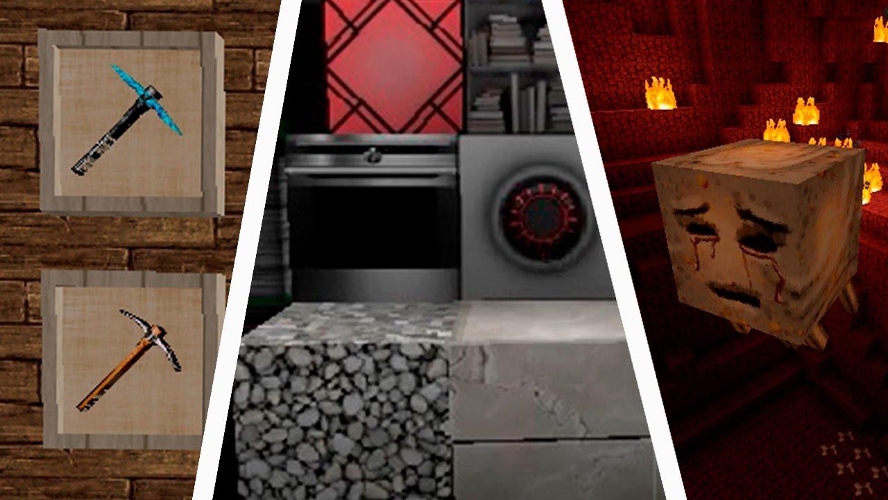 3 INCREIBLES PACK DE TEXTURAS REALISTAS EN MINECRAFT   Texture Pack   Minecraft Real   hd - YouTube