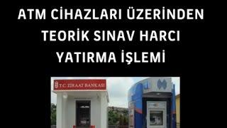 E Sınav Harcı Nasıl Yatırılır? (Halk Bankası Atm)