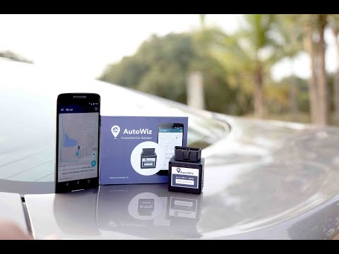 AutoWiz Connected Car Solution Demo (GPS Tracking System)