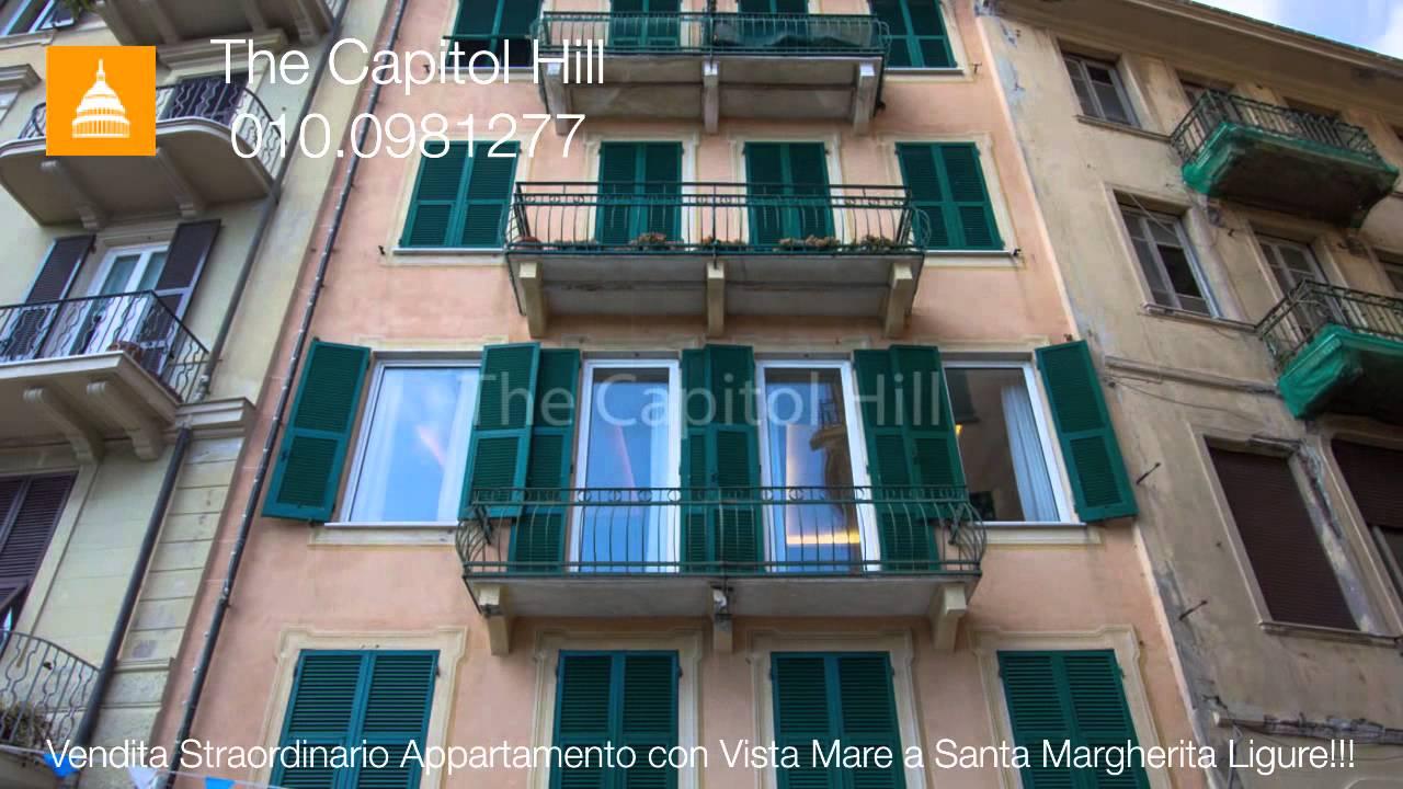 Vendita Straordinario Appartamento Con Vista Mare A Santa Margherita Ligure
