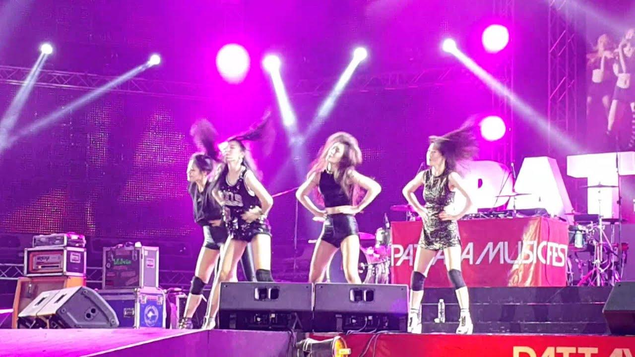 2016년 3월 19일 걸그룹 라니아(Korea Girl Group RANIA) 파타야 뮤직페스티벌 (2016 pattaya music festivel)