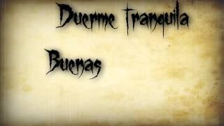 Alesana Goodbye, Goodnight, For Good (español)