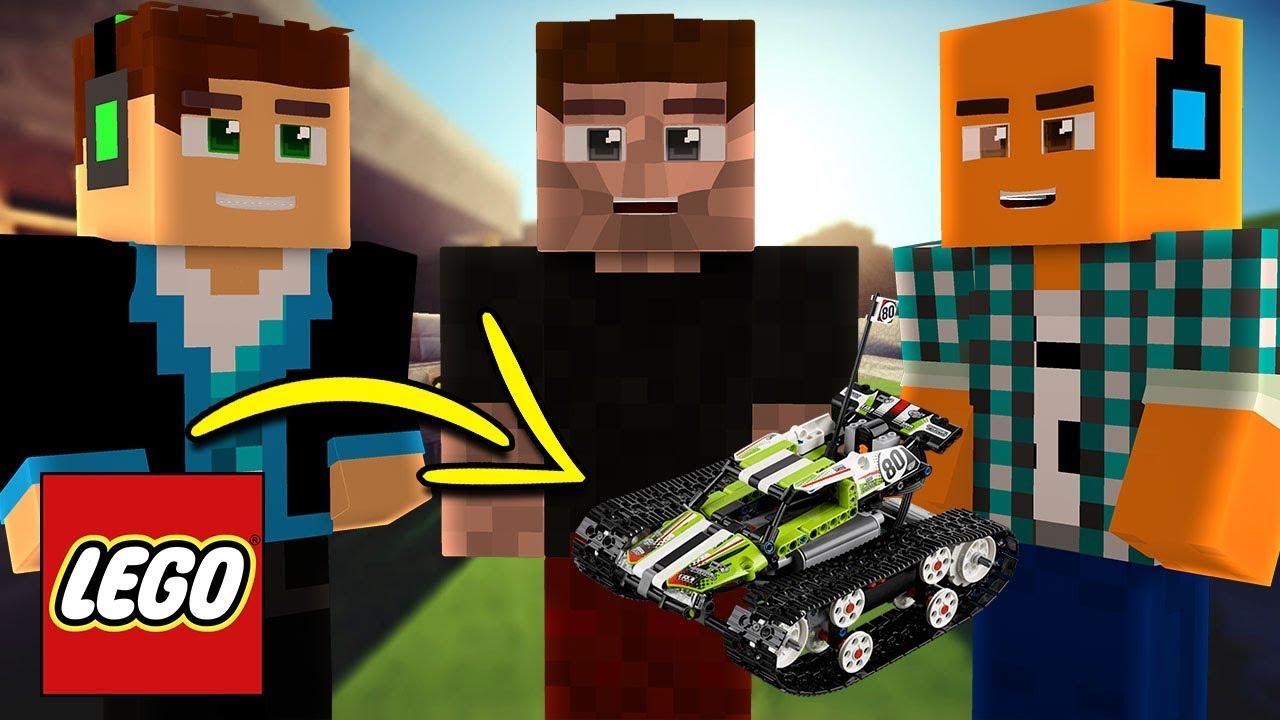 BAWIMY SIĘ LEGO Z LJAY I ZIO W MINECRAFT!   Minecraft Vertez