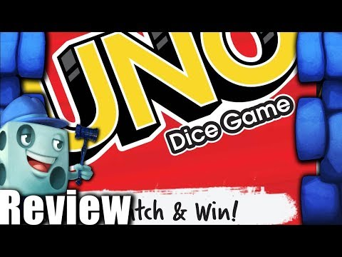 UNO Dice Game Review - With Tom Vasel