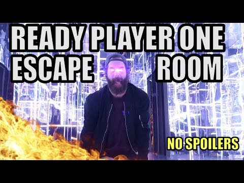 READY PLAYER ONE ESCAPE ROOM!! [no spoilers]