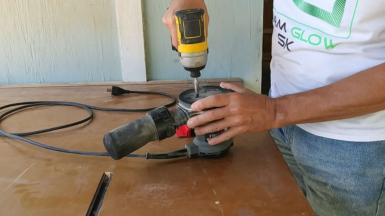 Two quick and inexpensive repairs for your random orbit sander