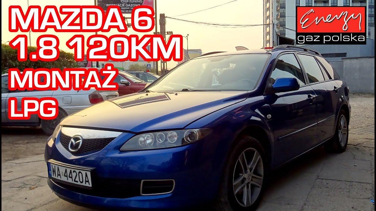Montaż LPG Mazda 6 z 1.8 120KM w Energy Gaz Polska na gaz BRC SQ 32