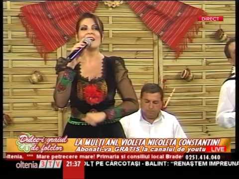 Violeta Constantin - Bine-i sade mesei mele LIVE