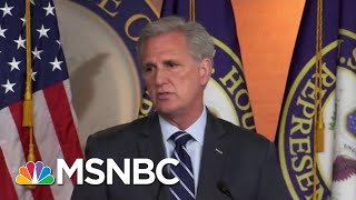 McCarthy Word-Salad Defense Of Trump Saying He'd Accept Dirt From Foreign Govts | Hardball | MSNBC