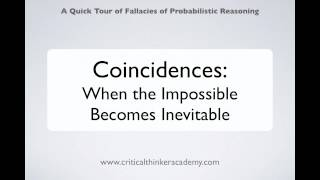 Critical Thinking About Coincidences (1/5) Thumbnail