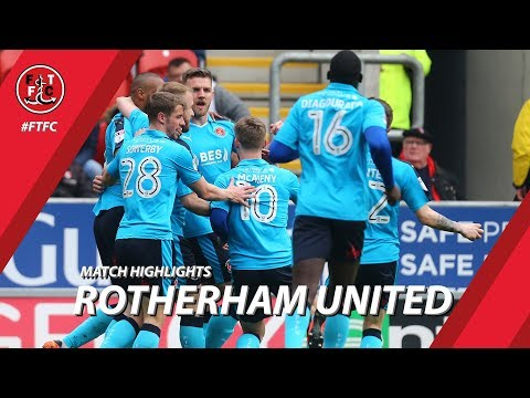 Rotherham United 3-2 Fleetwood Town | Highlights