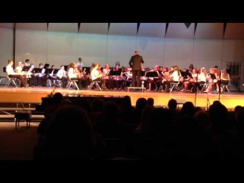 Rocky Point Middle School 8th grade band 2014 2/3