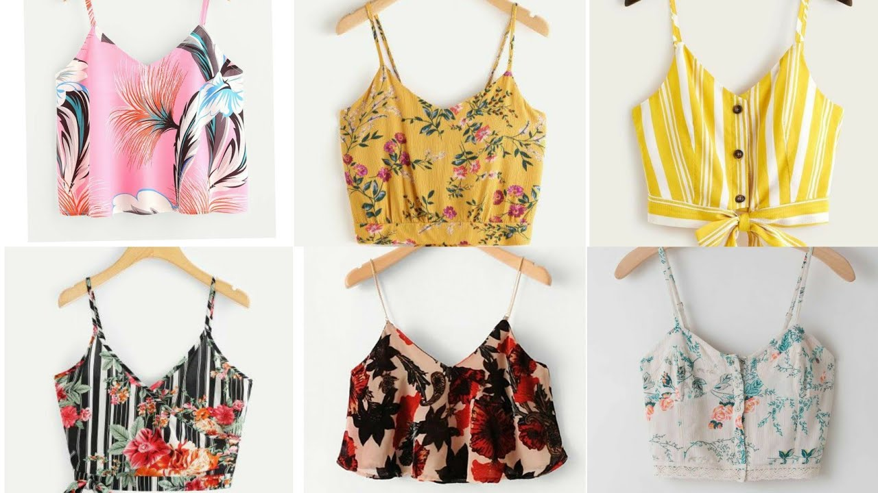 Top 20 Best Cami Tops Designs 2020 | Fancy Summer Short Tops | Jeans Top | Stylish Short Tops | Top