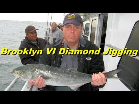 Brooklyn vi nyc fishing diamond jigging for bluefish for Brooklyn vi fishing