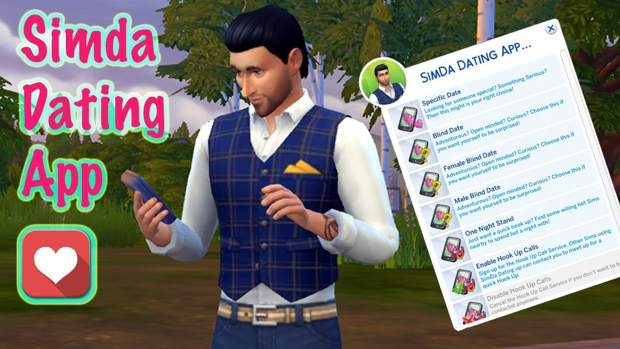 The Sims 4 dating mod