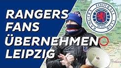 Schottische Fans übernehmen Leipzig