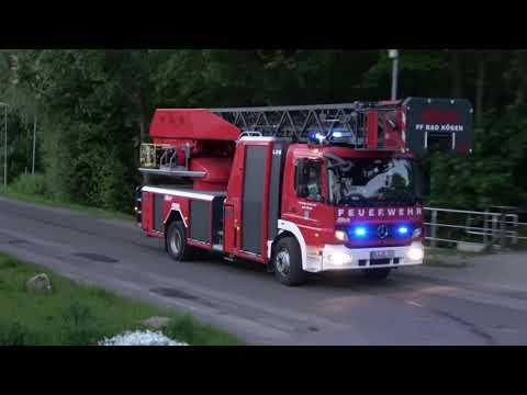 Feuerwehr Bad Kösen Zur Unklaren Rauchentwicklung