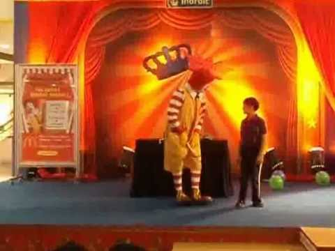 Ronald McDonald visit at Inorbit Mall, Pune Part 3