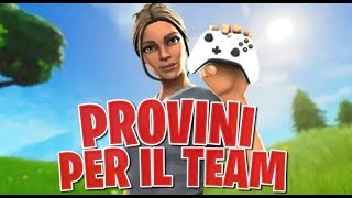 "🔴PROVINI FOR THE NOX TEAM NEW PATCH 8.10! NEW ""GIROSPHERE"" VEHICLE Fortnite ITA"