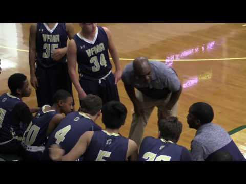 Valley Forge Military Academy JV Basketball at Delaware County Christian School - 1.19.17