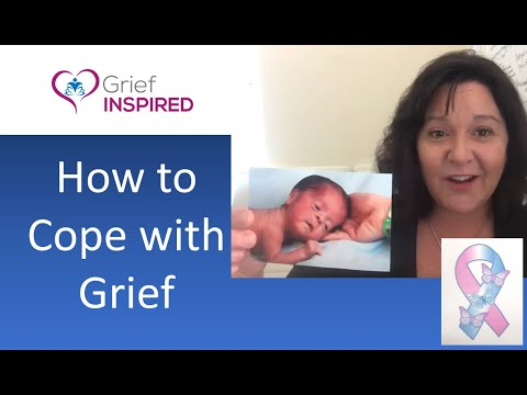 Coping with Grief - Grief Support - Grief Coaching-  Pregnancy and Infant Loss Awareness Month