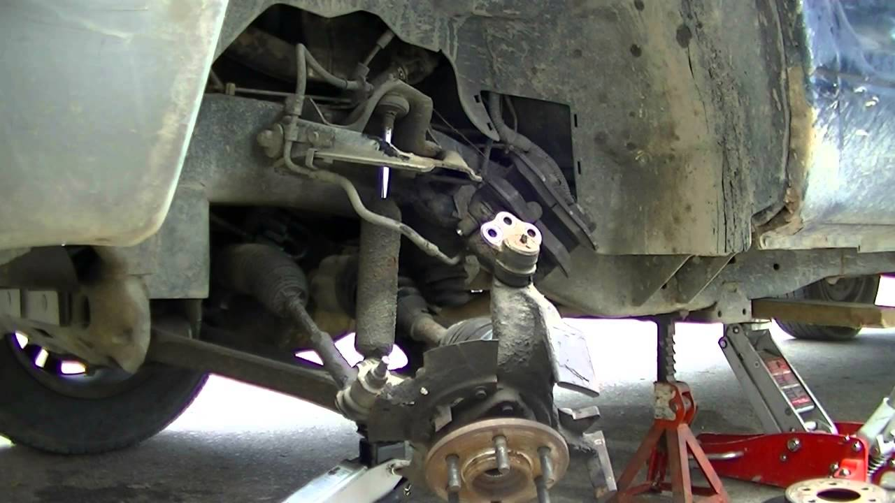 2001 Dodge Dakota Axle Replace  YouTube