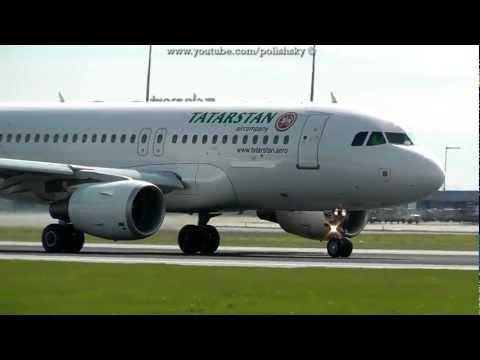 Tatarstan Airlines Airbus A319-112 Reg: VQ-BNF at Prague Ruzyne LKPR / PRG 21.04.2012