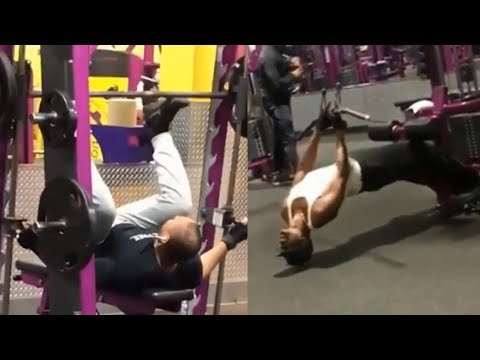 planet fitness fail compilation  part 2  youtube