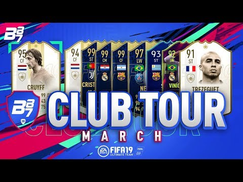 THE BEST CLUB ON FIFA! MARCH CLUB TOUR! w/ NEW PRIME MOMENTS ICONS | FIFA 19 ULTIMATE TEAM