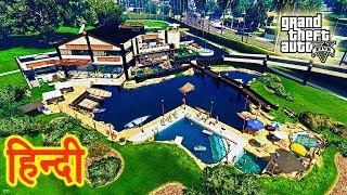 GTA 5 - Michael Ka New VIP Golf Club Hotel | Trevor In