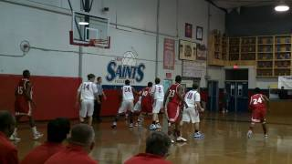 Jacob Coker basketball slam dunk