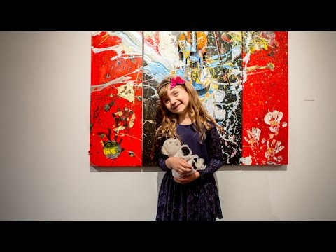 7-Year-Old Painter Opens Exhibition In NYC, Shares Opinions On Koons, Banksy And More