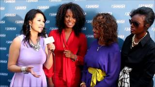 Utalk's interview with Yashi Brown, Rebbie Jackson and Stacey Brown at the Voice Awards