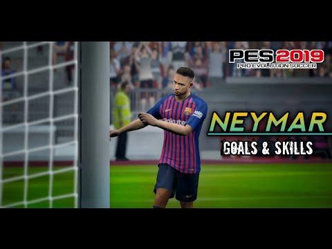 PES 19 Mobile NEYMAR JR Insane Goals & Skills🔥  
