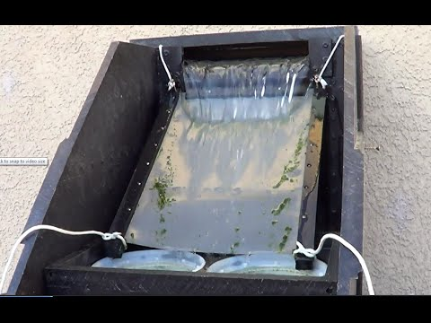 Homemade sieve filter for pond with 3 chamber 4 of 4 youtube for Koi pond filter diy